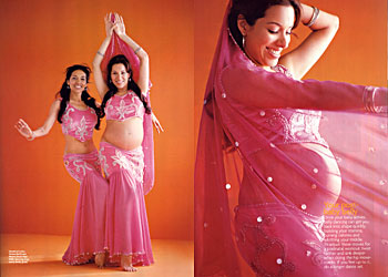 FitPregnancy Magazine on Belly Dancing